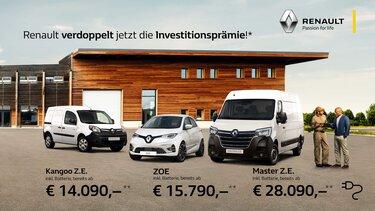 Renault ZE Range Prämie