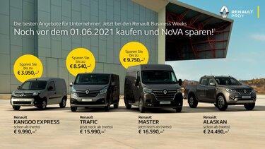 Renault Nutzfahrzeuge bei den Business Weeks