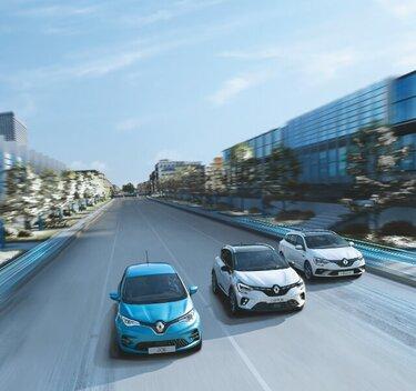 Renault  ZOE und PHEV