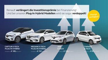 Renault electric range