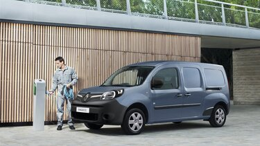 Renault Elektromobilität Ladevorgang