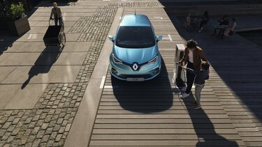 Renault ZOE - Ladevorgang