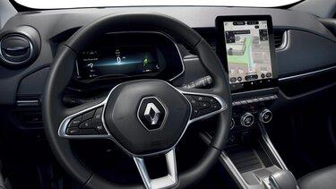Renault ZOE Navigationsbildschirm