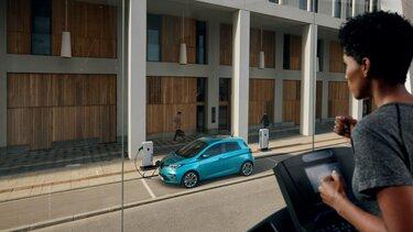 Renault Elektromobilität Ladestationen