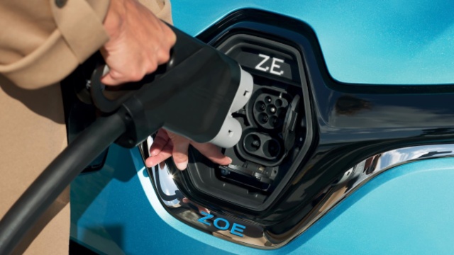 Renault ZOE Batterie laden