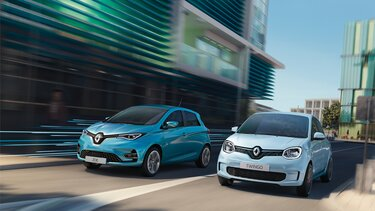 Renault ZOE und TWINGO Electric
