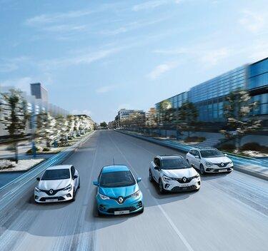 Renault Hybrid und Elekrto Range