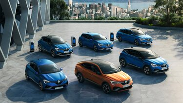 Renault Hybrid Range