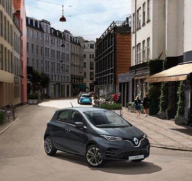 Renault  ZOE an Aufladestation
