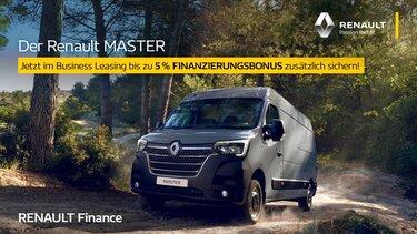 Renault Master mit Finanzierungsbonus