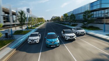 Renault Elektro und Hybrid