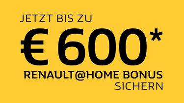 Renault@Home Bonus Banner