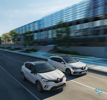 Renault Megane und Captur Plug-in Hybrid