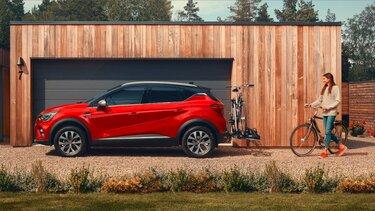 Renault SCENIC rot mit Zubehör