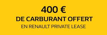 Promo Carte carburant - Private Lease - Renault