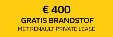 € 400 brandstof aangeboden - Renault
