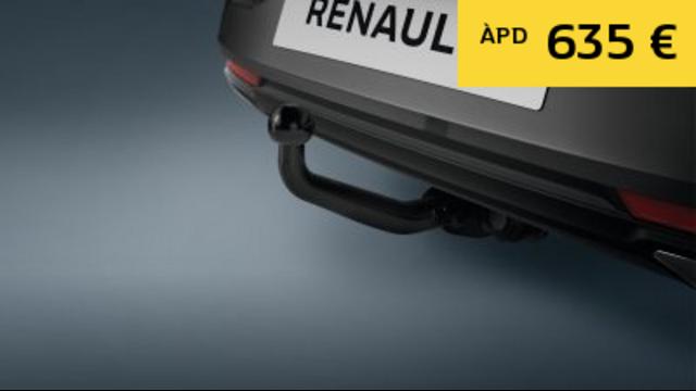 Attelage en col de cygne - Renault