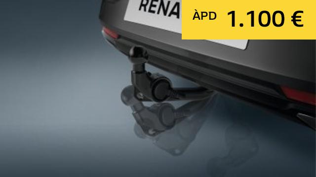 Attache-remorque escamotable - Renault