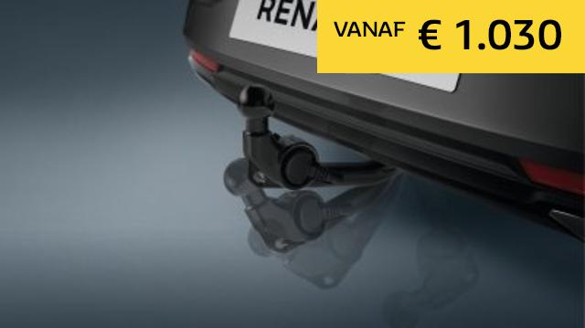 Inklapbare trekhaak - Renault