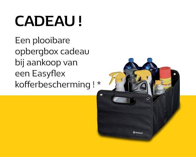 Plooibare opbergbox CADEAU