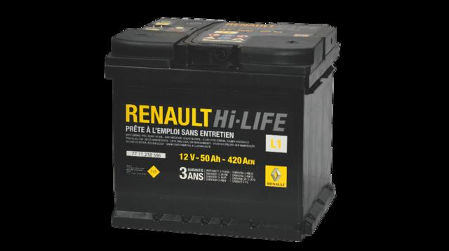 Batterie - Dacia