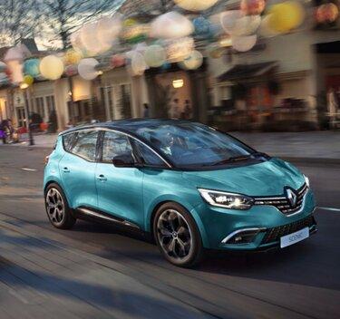 Renault SCENIC - Buitenkant