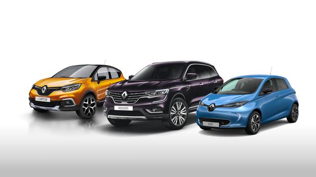 Renault - Stock-voertuigen