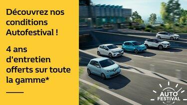C'est l'Autofestival chez Renault !