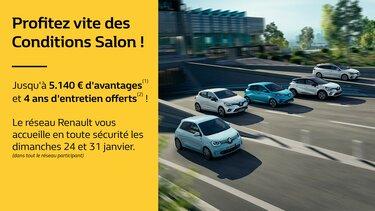 C'est le Salon chez Renault !