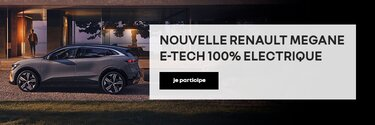 Nouvelle Renault Megane E-Tech electric
