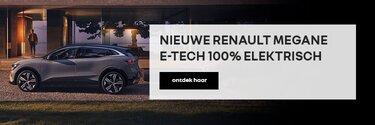 Nieuwe Renault Megane E-Tech electric