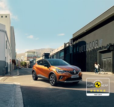 Renault CAPTUR SUV compact urbain