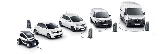 Gamme Renault Z.E. Electric