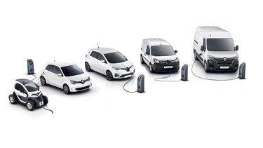 Gamme électrique de Renault