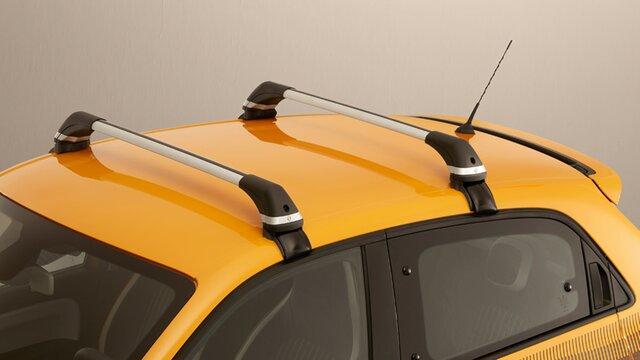Renault TWINGO - Barres de toit aluminium