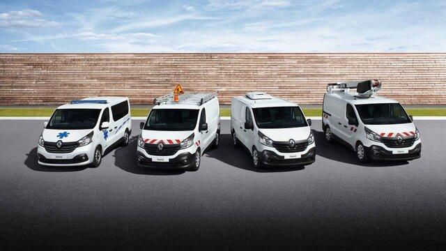 Bedrijfswagens Renault