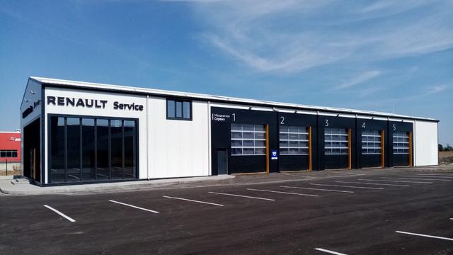 нова дилърска локация Renault Dobrich