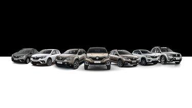 Linha de veículos Renault