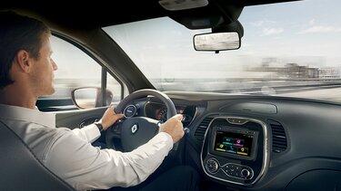 Renault CAPTUR - Vista do painel
