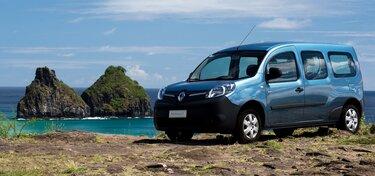 Traseira do Renault KANGOO Z.E.