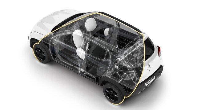 Renault KWID - Equipamentos
