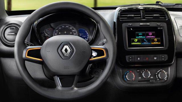 Renault KWID - Close da traseira