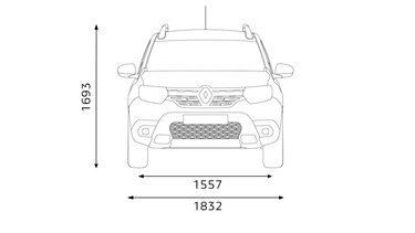 DUSTER dimensions profil