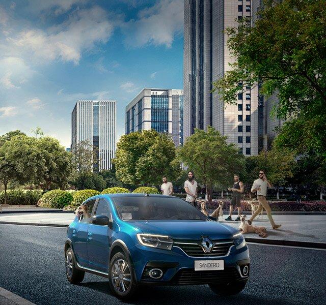 Carro urbano Renault SANDERO
