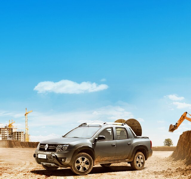 Picape 4x4 Renault Duster OROCH