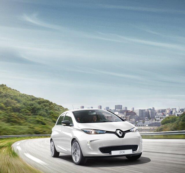 Carga do Renault ZOE