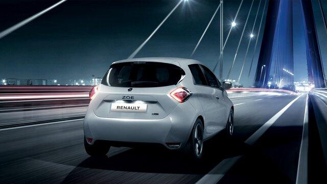 Autonomia e carga do Renault ZOE