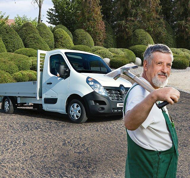 Intestazione Offerta speciale veicoli per edilizia Renault