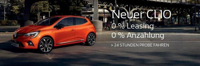 Neuer Clio 3/4 Profil