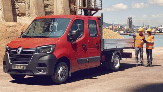 Offre spéciale Renault Pro+ pour pont fixe alu et benne basculante triverse